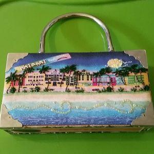 Handbags - Vintage cigar box purse custom made